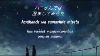 RADWIMPS - Sparkle | OST. Your Name ( Kimi no Na wa ) - Lirik Terjemahan