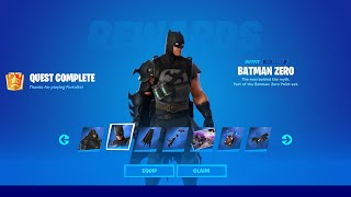 [LIVE] FULL *BATMAN ZERO* SET in Fortnite SEASON 6!