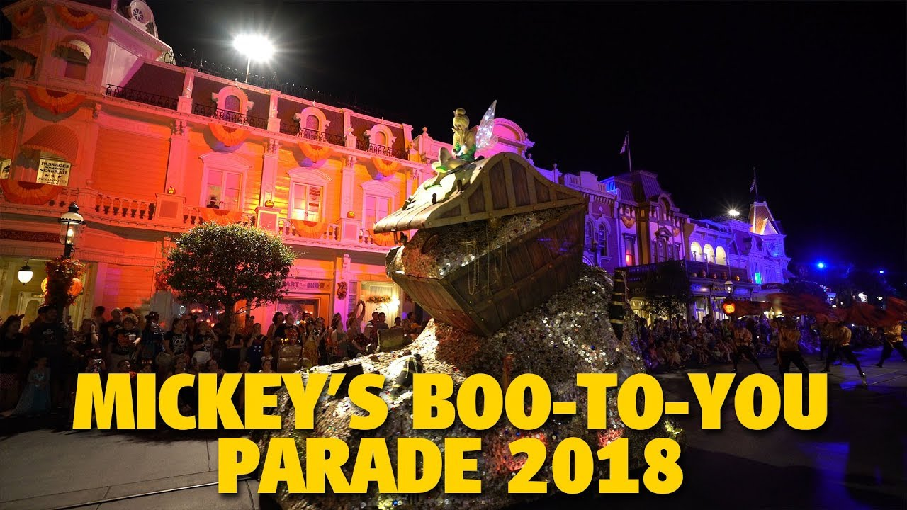 acf0f7c2ee40 Mickey's Boo-To-You Halloween Parade 2018 | Walt Disney World - YouTube