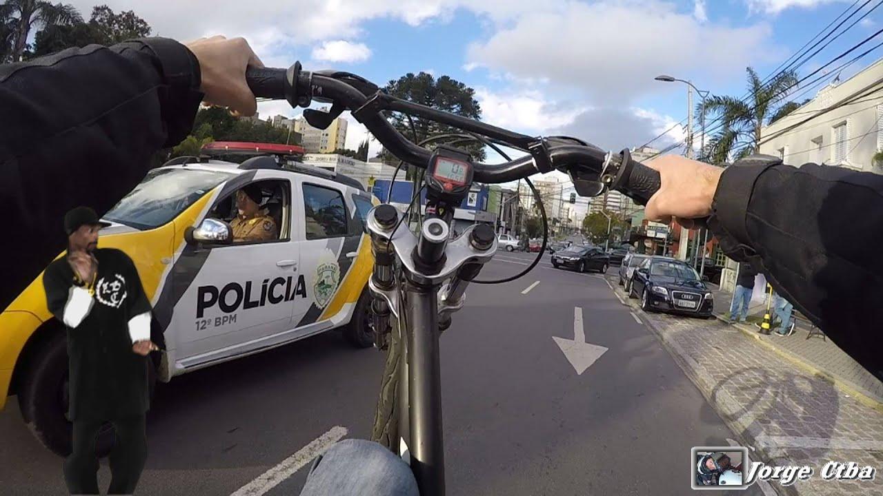 Adesivo De Bailarina ~ Empinando na frente da policia Thug Life Police vs Bicycle wheeling YouTube