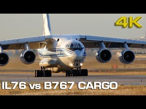 Russian vs American Cargo Planes!  [4K]