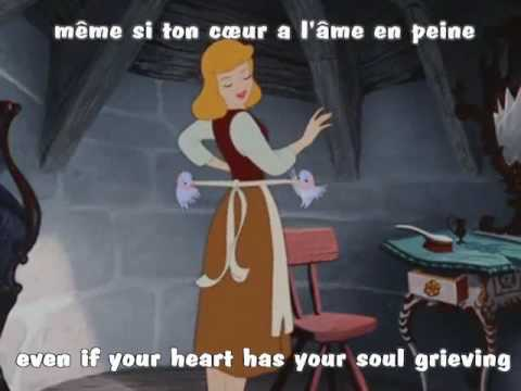 A Dream Is A Wish Your Heart Makes French W Subs Translation