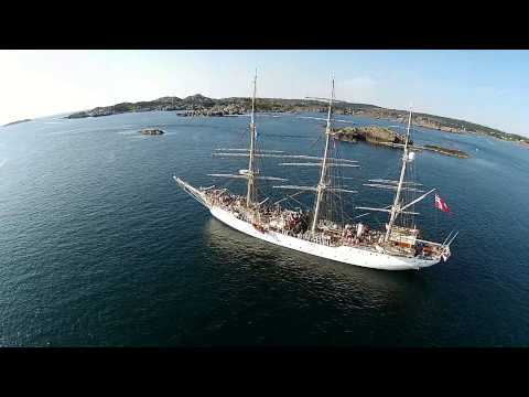 Cruise with Christian Radich, Skudeneshavn