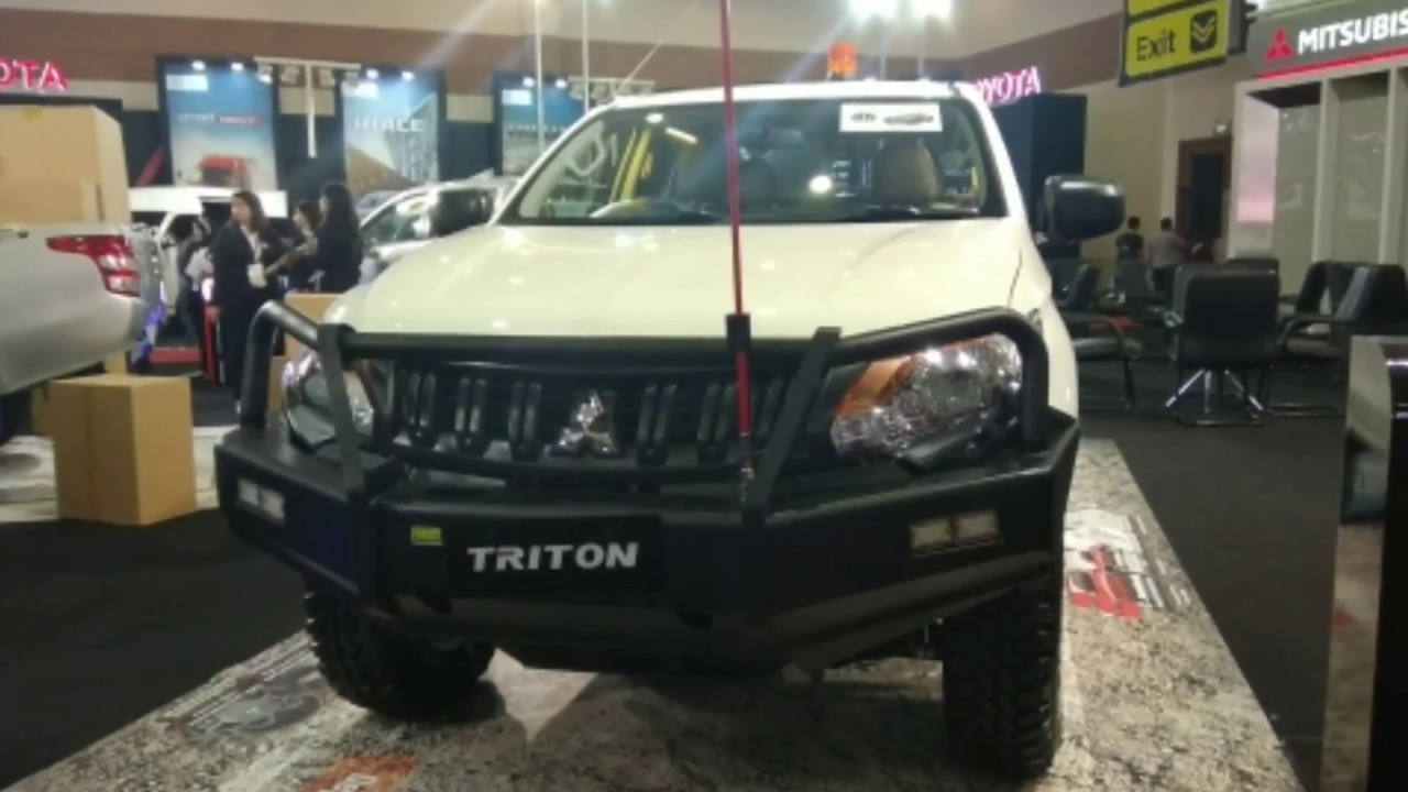 Mitsubishi Triton HDX 4x4 Modif YouTube