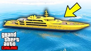 NAVIGUER ET CUSTOMISER SON YACHT SUR GTA 5 !