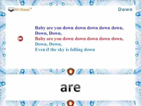 Jay Sean- Down Ft lil Wayne (Karaoke Version DJ Chaos)