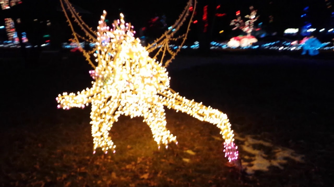 Layton Commons Park Christmas Lights 2020 Layton Christmas Lights in the Park   YouTube