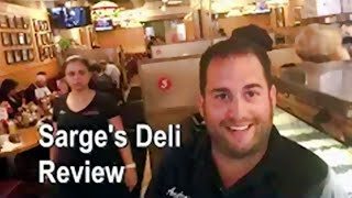 Sarge's Deli Review - Manhattan, NYC