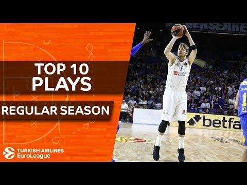 Turkish Airlines EuroLeague, Top 10 Plays of the Regular Season