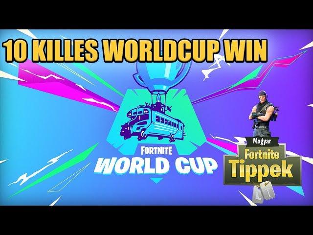 Így lett 10 killem a worldcupon (Open qualifiers) [Fortnite]