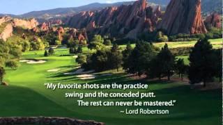Golf Quotes Movie by Joe Vanek