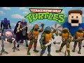 NECA Rise of the CLASSIC Ninja Turtles 1980's Cartoon Figures Unboxing!