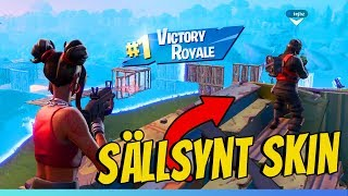 PLAYS DUO WITH ONE OF SWEDEN'S RAREST FORTNITE SKIN