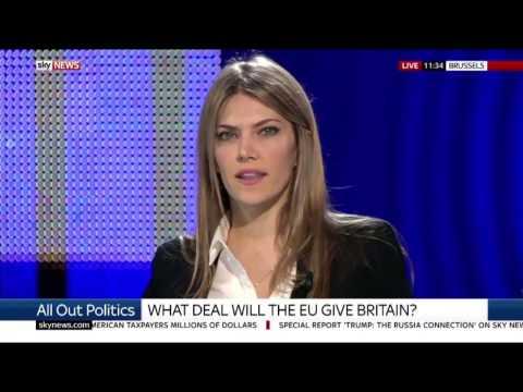 "Eva Kaili on ""All Out Politics"" - SKY News 10.03.2017"