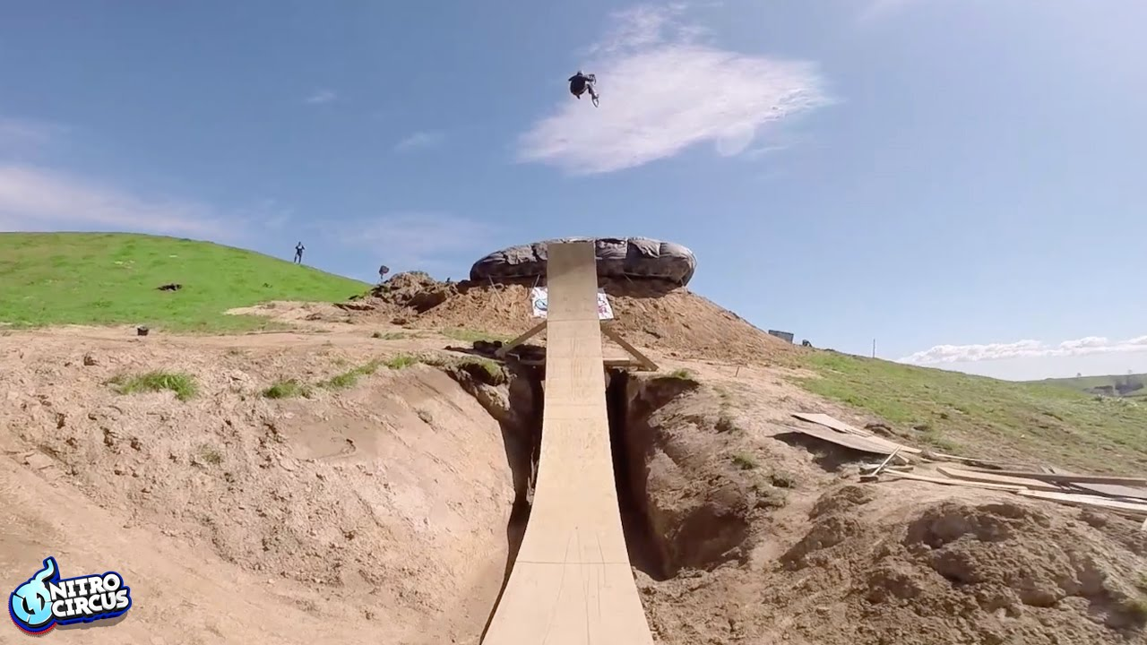 History Made! First Ever BMX Quad Backflip | Nitro Circus | Jed Mildon