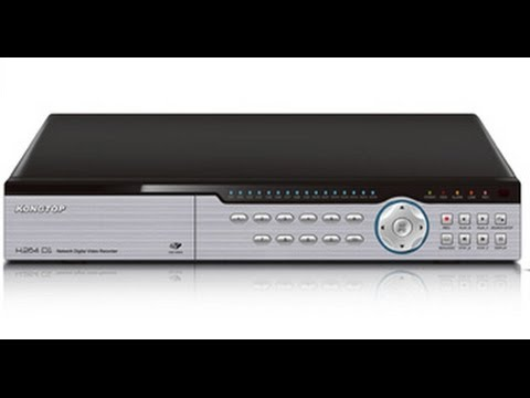 Kongtop KT8816FD 16 Channel Full D1 High Resolution Recording CCTV Security DVR - YouTube