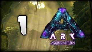 ARK Survival Evolved Aberration | A Rough Start! First Base & Dodo! | Pooping Evolved Episode 1