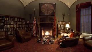 360 Video - Fireplace Reading