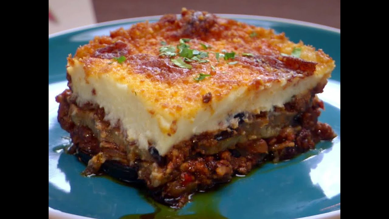 Moussaka facile 🇬🇷 - YouTube