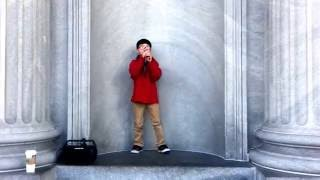 Baby Cover by 8 Year Old Boy