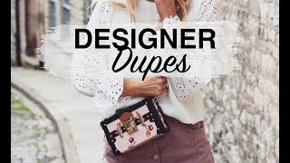 BEST DESIGNER DUPES | CHLOE, GUCCI, PRADA, LOUIS VUITTON, GIVENCHY | SINEAD CROWE
