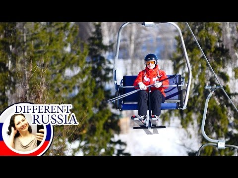 Most Popular Ski Resort Near Moscow on Different Russia Channel