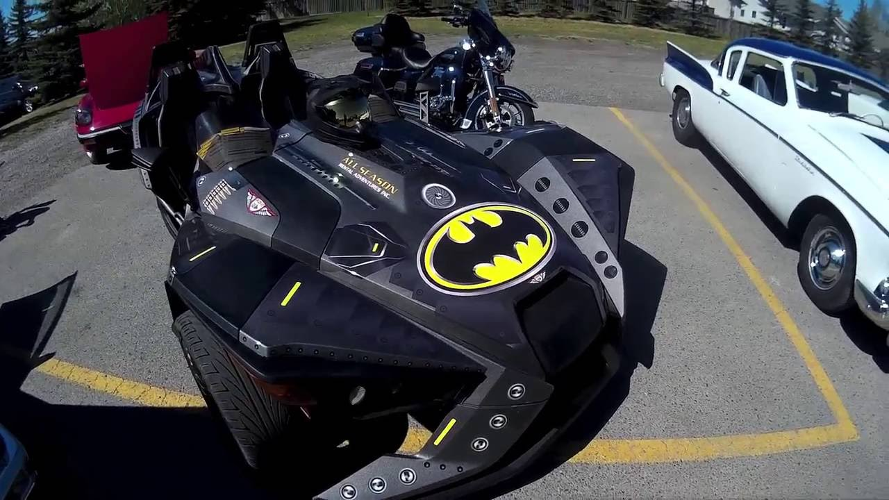 "Polaris Slingshot ""BATMOBILE"" - GoPRO - YouTube"