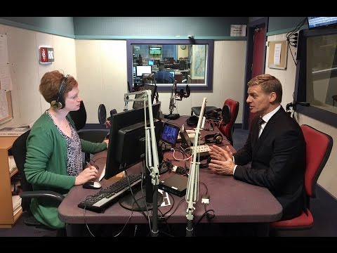 Bill English on Morning Report May 1st 2017