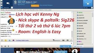 Hướng dẫn sử dụng Paltalk tham gia lớp học English Online