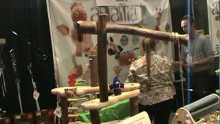Tree Blocks *natural Wood Building Toys @ Toy Fair 2012