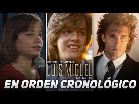 Luis Miguel La Serie I Temporada 1 en un video