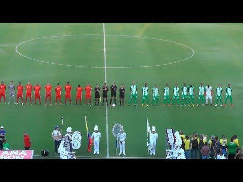 Atlético Nacional 1 Rionegro Aguilas 0.  Día del Fútbol Antioqueño...