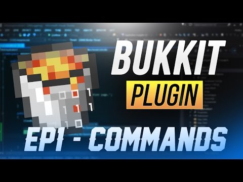 CREATING COMMANDS | How To Make A Basic Bukkit Plugin