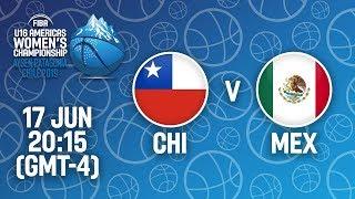 LIVE - Chile v Mexico - FIBA U16 Women's Americas Championship 2019