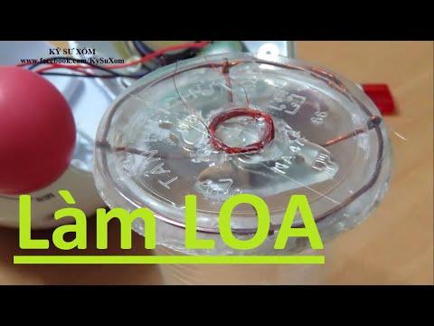 Tự làm loa vi tính từ cốc nhựa