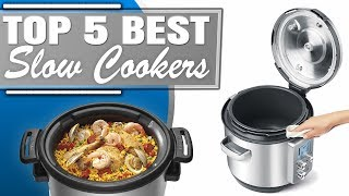 Best Slow Cooker | Top 5 Best Slow Cookers Review