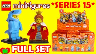 Lego Minifigures Series 15 71011 FULL SET