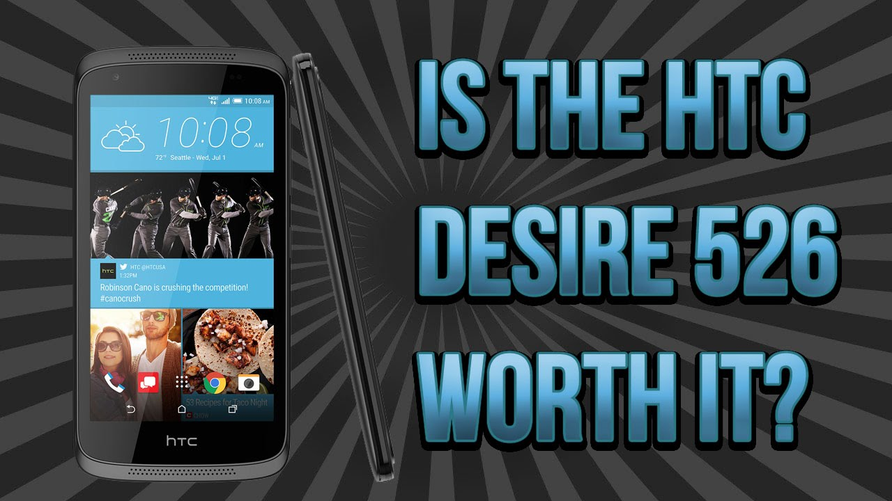 HTC Desire 526+ Budget Android Phone Review - YouTube