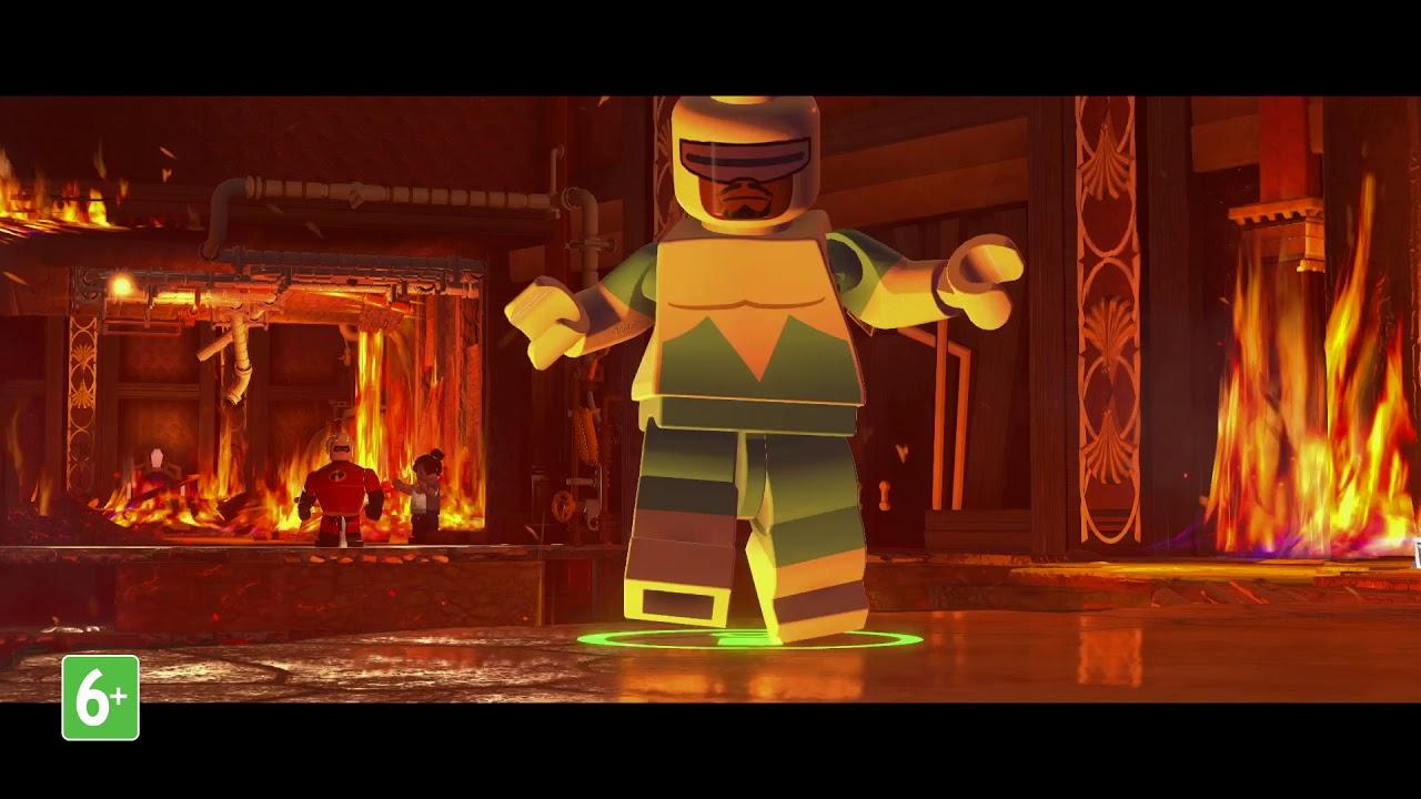 LEGO Суперсемейка –  трейлер семьи Парр