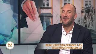 Kampány 2019 - Berki Krisztián főpolgármester-jelölt