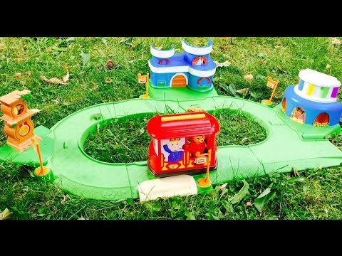 DANIEL TIGER'S NEIGHBOURHOOD Trolley Track Toy Set!