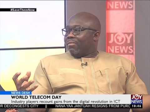 World Telecom Day - News Desk on Joy News (17-5-17)