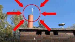 Czyszczenie komina mechaniczne - od dołu bez wchodzenia na dach