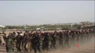 Somaliland Army Training
