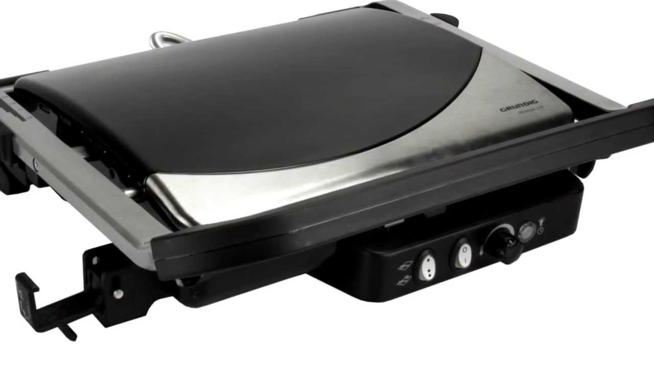 grundig electric countertop grill