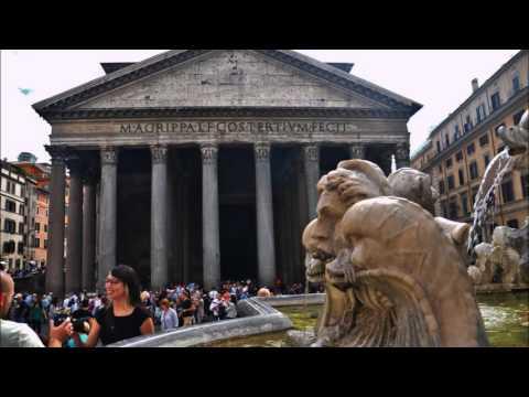 Kyrkjevandring i Roma.