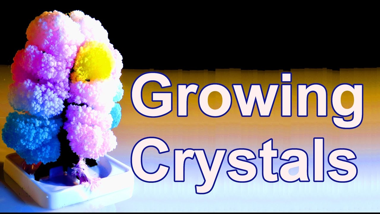 how to grow beautiful crystals