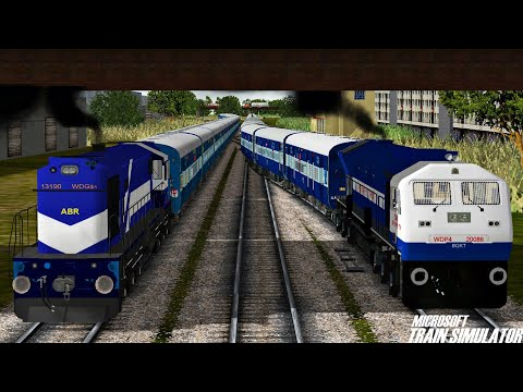 Jaipur - Bandra Terminus Aravali Express | Royal Rajasthan | MSTS Open Rails - Indian Railways