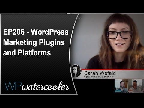 EP206 - WordPress Marketing Plugins and Platforms - WPwatercooler