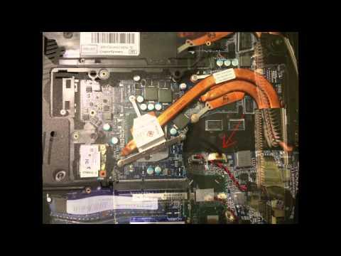 Разборка ноутбука msi ge70 - 1f1ef